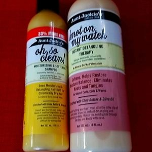 Aunt Jackie's Shampoo and conditioner